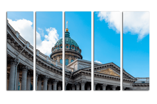 Модульная картина Казанский собор
